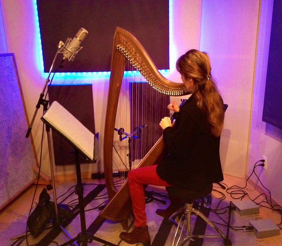 Recording at Blue Light Studios