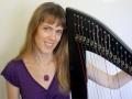 Rebecca and her Bresch Harp